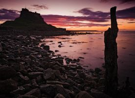 Last Post - Lindisfarne by Waylandscape
