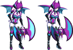 Commission for BluC Crobat pixel! by Oniika