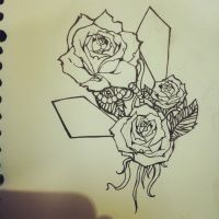 roses are red.....sketch by CNsArto