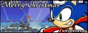 Another Sonic Christmas sig by DarkPhazon395