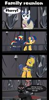 Family reunion by Vector-Brony