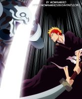 Ichigo vs hollow by Wowauwero