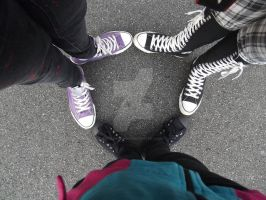 Converse forever... by P0k3monW0lf