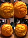 Blarg The Pumpkin by EricDaNerd