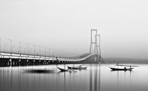 suramadu bridge by ucilito