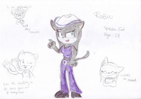 Robin the cat by LeniProduction