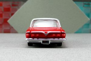 1961 Chevrolet Impala - red zr cotd - Revell by Deanomite17703cotd