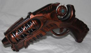 Steampunk Gun II by TimeMaster86