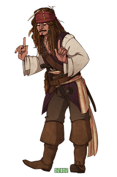 PotC: I'm here to take myself back! by RinGreen