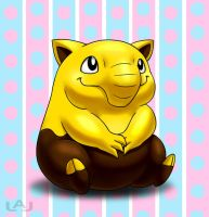 Baby Drowzee by Red-Flare