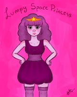 Lumpy Space Princess human-form by Gothen2