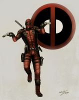 DEADPOOL SKETCH by WhileyDunsmoreArt