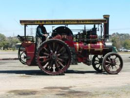 traction engine 274 by otherunicorn-stock