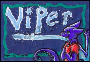 Sample badge Viper by cheese-puff82