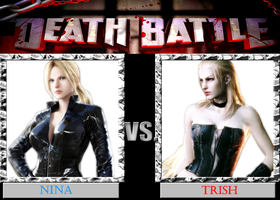 DB  Nina VS Trish by KazuyaAlexander