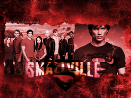 Smallville-Wallpaper by GrafixGirlIreland
