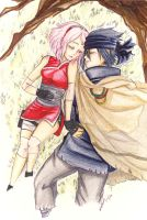 SasuSaku: Peace ~ by Stray-Ink92