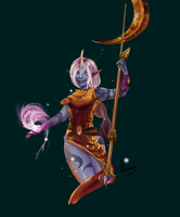 League of Legends - Soraka by Vohairan