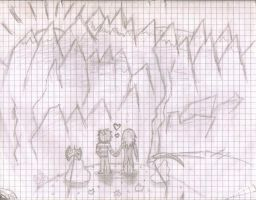 Love in the mountains by Elphin-Zephyr