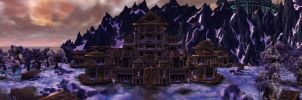 Wintergrasp Lake - Fortres by Wishmasterok