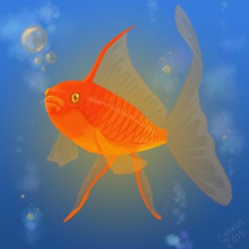 The Golden Fish by Genesis199