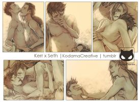 Yaoi Commission Spicy:  Kerr x Seth by Yaoi-World