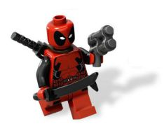 Lego Deadpool by Ultroxmga