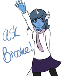 Ask (and dare) Brooke :AJH: by Its-Insane-O-Clock
