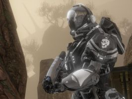 Halo 4: Headhunter by purpledragon104
