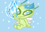 Celebi by Violent-Rainbow