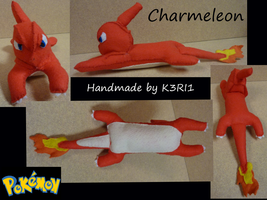 Charmeleon Plush by K3RI1