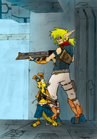 Jak And Dax by Canjoke