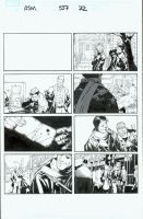 Amazing Spider-Man 557, pg22 by MarkIrwin