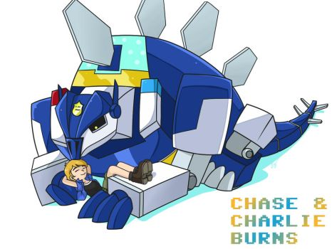 TFRB: Chase and Charlie by Evelynism