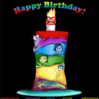 Happy Birthday From The Inside Out By alx234 by zenx007