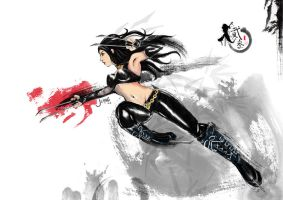 X-23 WHITE by gothichand