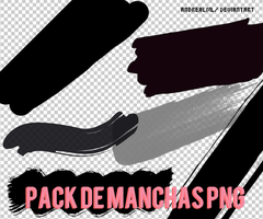 Pack de Manchas PNG by AndrealmL