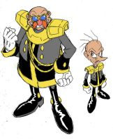 Alternate Robotnik and Snively 3 by Yardley
