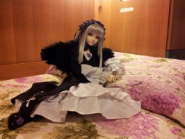Suigintou BJD - Waiting by AngyValentine