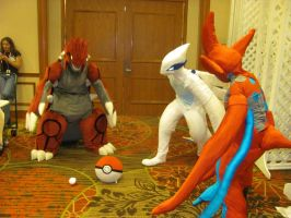 A-kon '12 - Pokemon Legendries 3 by TexConChaser