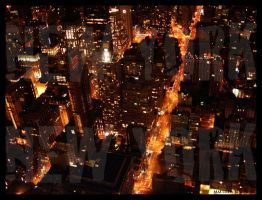 Lights of New York by Bleezer