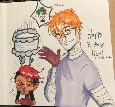 Happy Birthday Konoira! by Imccutie1999