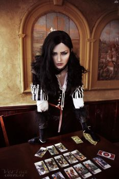 Yennefer - Play me? Gwent? by ver1sa