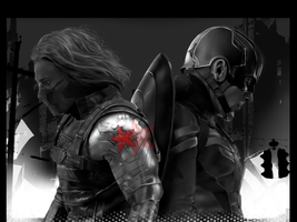Captain America: Civil War by gooey-dog