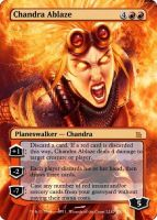 Chandra Ablaze by FSchipiura