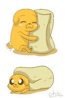 BURRITO JAKE by chibitracydoodles