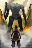 -The Last Stand- Korra X Colossus by ShoCulit