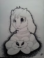 (Spoilers?) Asriel by LupiArts