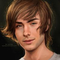 Zac Efron by AyyaSap