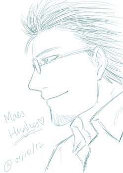 Sketchy Maes Hughes by astronomylover93